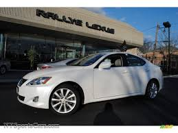 lexus awd is250 for sale 2008 lexus is 250 awd in starfire white pearl 020932