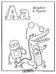 the letter a coloring page 24 best storybots images on pinterest color activities coloring
