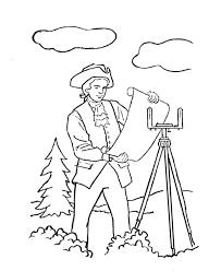 usa printables george washington coloring page president george