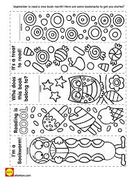 image result for free printable bookmarks to color printables