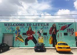 in miami s little haiti a muralist fights gentrification one wall serge toussaint s in progress mural
