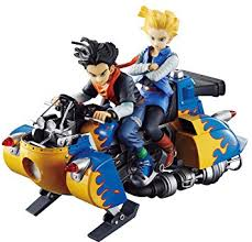 android 17 and 18 megahouse z real mccoy androids 17 18
