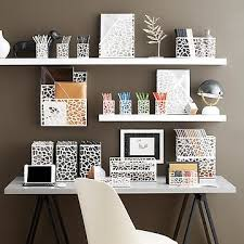 Organize Office Desk Office Desk Storage Ideas Office Supplies Office