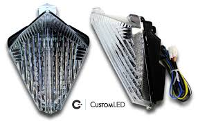 2007 2008 yamaha yzf r1 blaster x integrated led tail light custom led