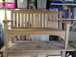 build wooden park bench design diy wood furniture plan nosy13ari