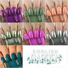 olivia jade nails color club english garden collection swatches