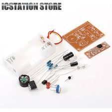 ne555 circuit touch vibration alarm suite electronic parts diy