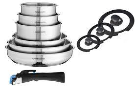 batterie cuisine inox induction incroyable batterie de cuisine inox induction 19 casserole