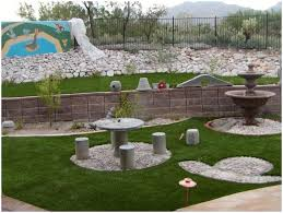 backyards compact landscaping ideas small sloped yard more 145