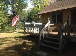 northeast michigan lake front cabin homeaway hillman
