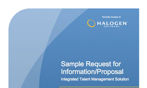 sample rfp rfi template for a talent management system download