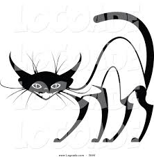 clipart of an evil siamese cat by vector tradition sm 3846