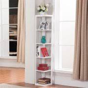 Corner Bookcase Wood Corner Bookshelves