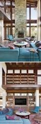 Wohnzimmer Design Mit Stein Dieses Neue Holz Und Stein Haus Liegt Unter Den Santa Monica