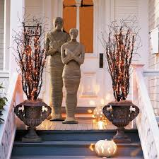 Halloween Decorations Grandin Road Lifesized Wrapped Mummy Statues The Green Head