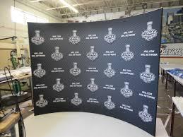 product showcase pop up media backdrops ami graphics