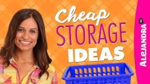cheap storage ideas dollar store haul youtube