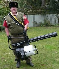 Sniper Halloween Costume Tf2 Heavy Weapons Guy Costume 23 Steps