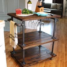 wood and pipe table affordable reclaimed wood furniture kitchen metal table pipe table