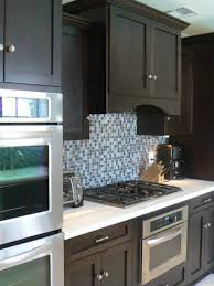 Mosaic Kitchen Backsplash Serene Kitchen Decor Using Blue Backsplash At Hometren