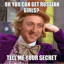 Russian Girl Meme - dating a russian girl meme