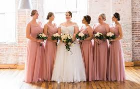 dusty bridesmaid dress find the bridesmaid dresses based on your type