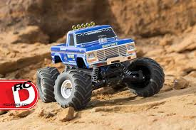 bigfoot 1 original monster truck traxxas rc driver