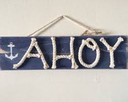 themed signs distressed themed signs nautical wood by highplainsknotwork