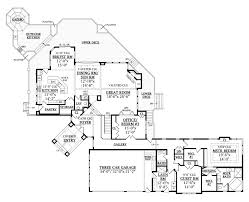 First Floor House Plan Miller Luxury Craftsman Home Plan 016s 0001 House Plans And More