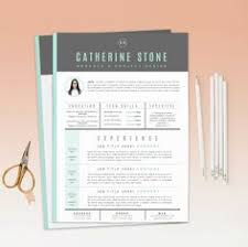 cover letter for a resume example resume template and cover letter template by standoutlab on etsy