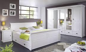 schlafzimmer set 4teilig kiefer massiv weiß gewachst - Schlafzimmer Set Weiss