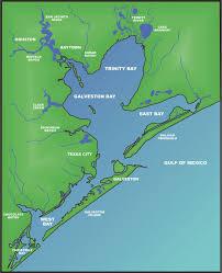 map of galveston galveston bay the handbook of state