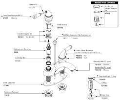 steel delta kitchen faucet parts diagram single hole two handle