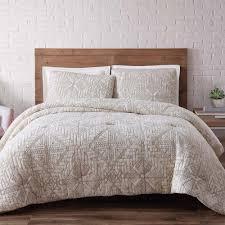 King Quilt Bedding Sets Loom Sand Washed Cotton Xl Quilt Set In Indigo Blue