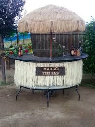 diy tiki bar for your backyard diy crazy pinterest tiki bars