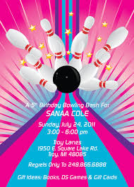 Farewell Party Invitation Card Design Colorful And Fun Children U0027s Party Invitations Skating U0026 Bowling