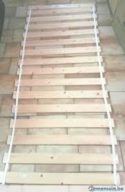 lade wood sommier ikea sultan lade 80x200 tr礙s peu utilis礬 a vendre