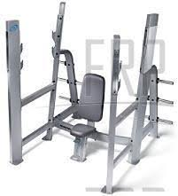 Nautilus Bench Nautilus Commercial Core Fitness Olympic Military Bench F3