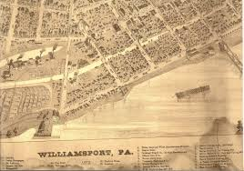 map of williamsport pa the pennsylvania center for the book discovering collins