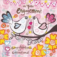 congrats engagement card congratulations celebrations on your engagement card karenza