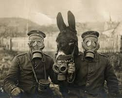 gas mask costume these harrowing photos of children and troops in gas masks show