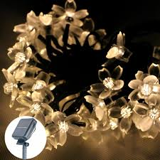 Flower String Lights by String Lights Outside Picture More Detailed Picture About 7m