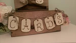 sign a wedding card rustic wedding banner country wedding cards banner wood