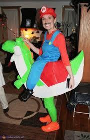 Princess Lolly Halloween Costume Mario Riding Yoshi Costume Yoshi Halloween Costume Contest