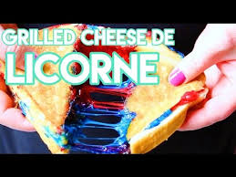 cuisine de soulef diy grilled cheese de licorne cuisine lol unicorn grilled