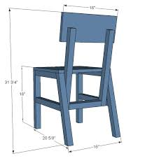 ana white harriet chair diy projects
