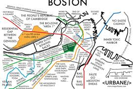 Map Of Boston Harbor by New Boston Map U0027wall Street Meets 18th Century Graves U0027 Curbed