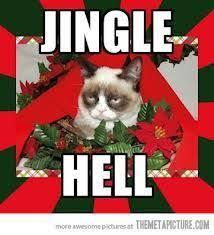 Christmas Grumpy Cat Meme - dark side cat funny as hell e cards memes pinterest dark