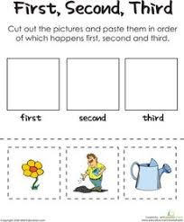 first next last 2 worksheets social skills and preschool
