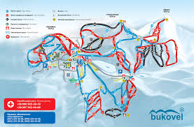 Ua Map Map Of Bukovel Skipass Ua